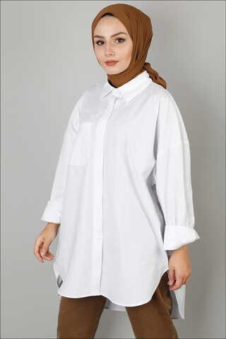 Zulays - Beyaz Gömlek