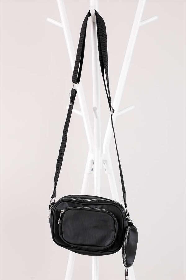 Cüzdanlı Çanta Siyah