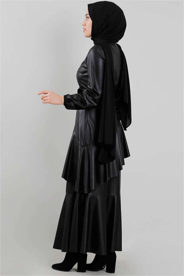 Deri Elbise Siyah