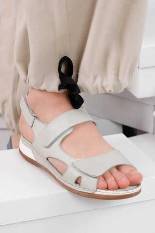 - Düz Sandalet Taş