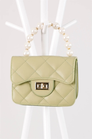 - İnci Çanta Yeşil