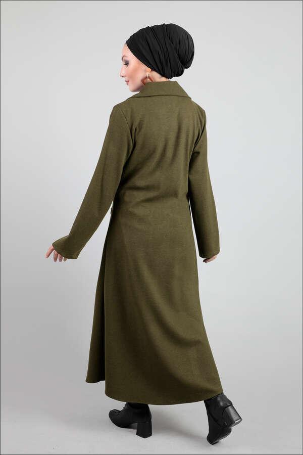 Ceket Yaka Haki Kaban
