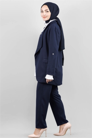 Klasik Pantolonlu Ceket Takım Laci - Thumbnail