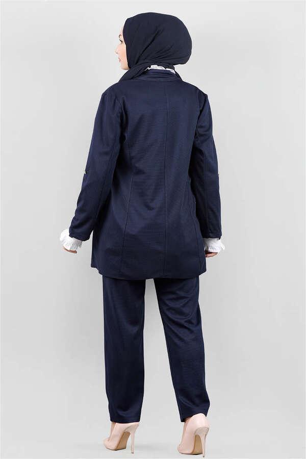Klasik Pantolonlu Ceket Takım Laci