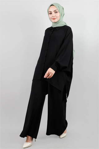 Zulays - Morbida Siyah Takım