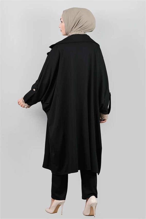 Oversize Takım Siyah