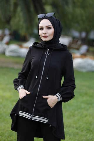 Ribana Eşofman Siyah - Thumbnail