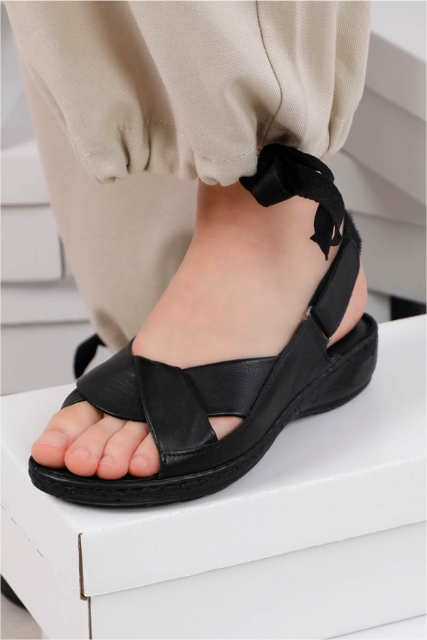 Safi Sandalet Siyah
