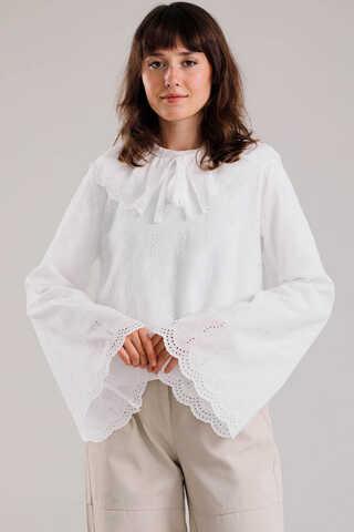 Zulays - Seyyar Yakalı Gömlek Beyaz