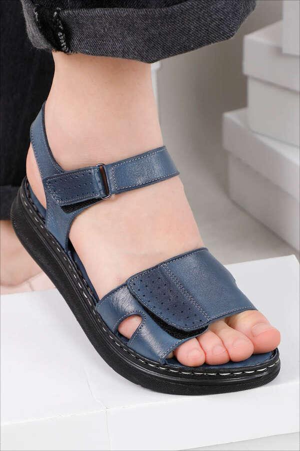 Spor Sandalet İndigo