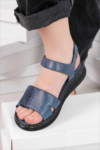Spor Sandalet İndigo - Thumbnail