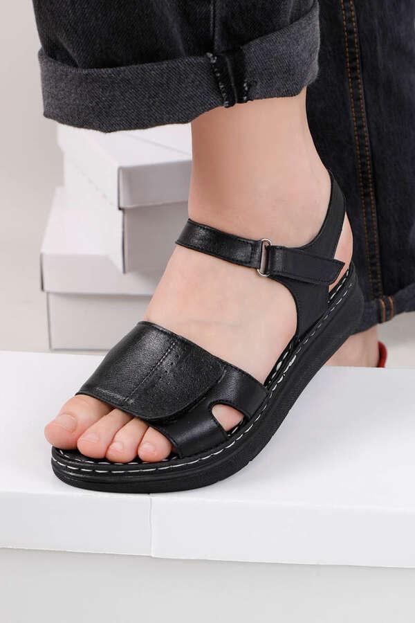 Spor Sandalet Siyah
