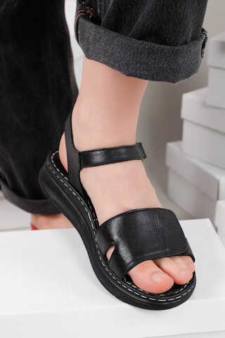 Spor Sandalet Siyah - Thumbnail