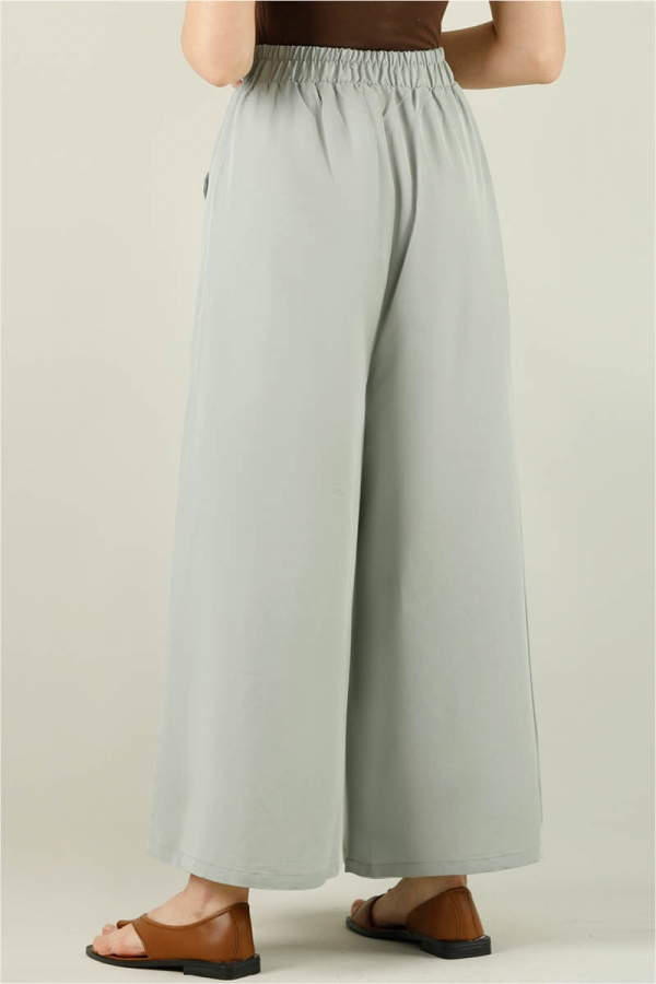 Tensel Bol Paça Pantolon Açık Mint