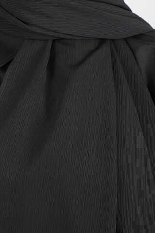 Astra Medine İpeği Siyah Şal - Thumbnail