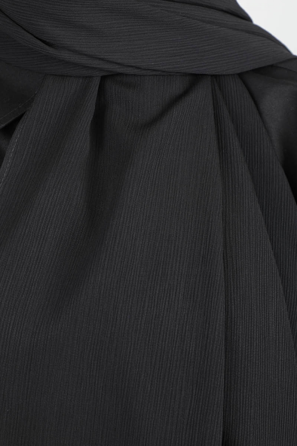 Astra Medine İpeği Siyah Şal
