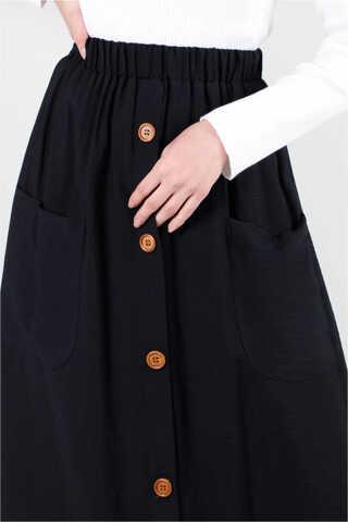 Torba Cepli Etek Siyah - Thumbnail