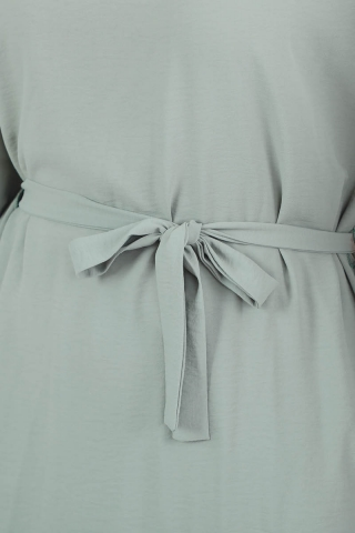 Yarasa Kol Pantolonlu Takım Mint - Thumbnail